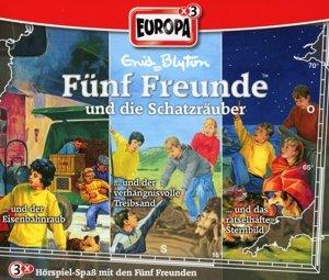 Fünf Freunde Box 22 ... und die Schatzräuber