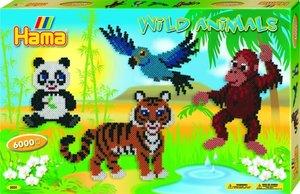 Hama 3031 - Geschenkpackung Dschungel, 3x Stiftplatte Nr. 234 mi