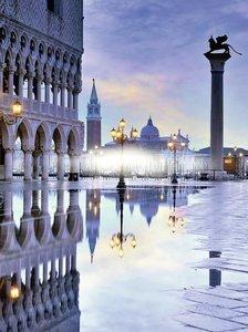 Romantisches Venedig. Puzzle 1500 Teile
