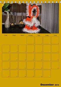Welt der Häckelfiguren (Tischkalender 2016 DIN A5 hoch)