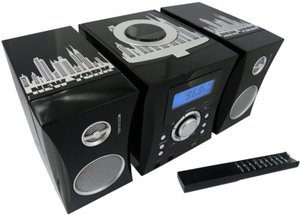 Kompaktanlage MP3 - USB Music Center MCD04 (New York Motiv)
