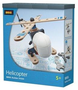 BRIO 34561 - Builder Helikopter, Hubschrauber