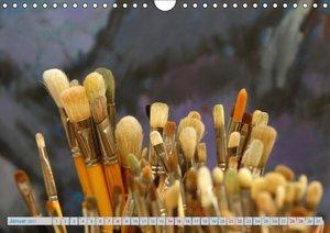 Atelierbesuch (Wandkalender 2017 DIN A4 quer)
