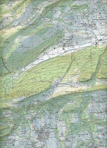 Swisstopo 1 : 25 000 Balsthal