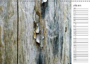 Hampe, G: Wood Structures / UK-Version / Birthday Calendar