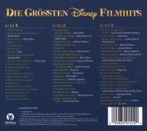 Die Größten Disney Film Hits (3-CD Box) Deutsch