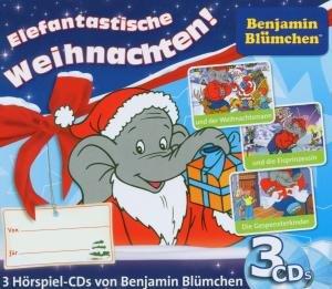 Benjamin Blümchen Weihnachtsbox. 3 CDs