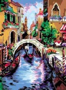 Ravensburger 28829 - Traumhaftes Venedig - Malen nach Zahlen, 30