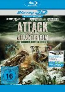 Attack from the Atlantic Rim (Blu-ray 3D)