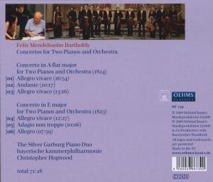 Silver Garburg Piano Duo/Bayer. Kammerphilh. /Hogwoo: Konzer