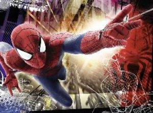 Mutiger Spider-Man. Puzzle 200 Teile XXL