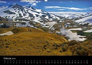 Island - Zauber des Nordens (Wandkalender 2016 DIN A2 quer)