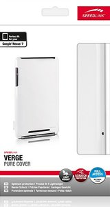 Speedlink SL-7363-WE VERGE Pure Cover, Hartschale für Nexus 7, w