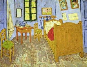 Van Goghs Schlafzimmer in Arles, 1889. Puzzle 2000 Teile