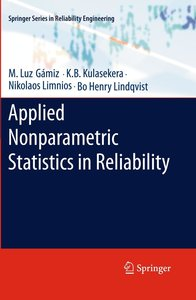 Applied Nonparametric Statistics in Reliability