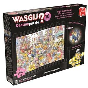 Wasgij Destiny 10 - Ärger auf der Hauptstraße! - 1000 Teile