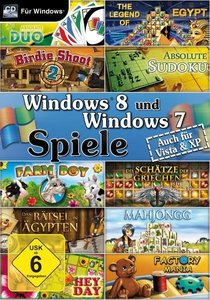 Windows 8 und Windows 7 Spiele. Für Windows XP/Vista/7/8