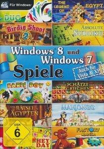 Windows 8 und Windows 7 Spiele. Für Windows XP/Vista/7/8