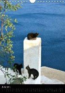 Exploring Santorini (Wall Calendar 2015 DIN A4 Portrait)