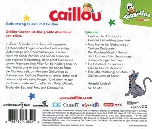 Geburtstag feiern mit Caillou