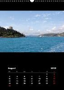 Istanbul - Bosphorus / UK-Version (Wall Calendar 2015 DIN A3 Por
