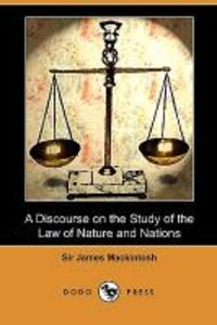 A Discourse on the Study of the Law of Nature and Nations (Dodo