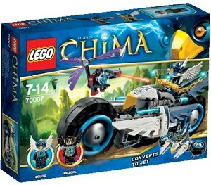 LEGO® Legends of Chima 70007 - Eglors Power-Bike