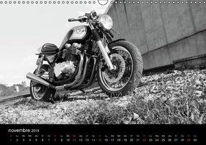 Une moto de caractère (Calendrier mural 2015 DIN A3 horizontal)