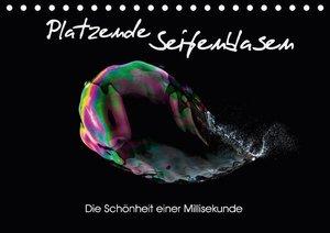 Platzende Seifenblasen - Die Schönheit einer Millisekunde