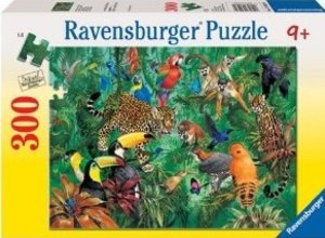 Wilder Dschungel. Puzzle 300 Teile XXL