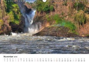 Uganda - die Perle Afrikas (Wandkalender 2016 DIN A3 quer)