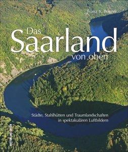 Das Saarland von oben