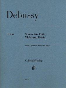 Sonate für Flöte, Viola und Harfe