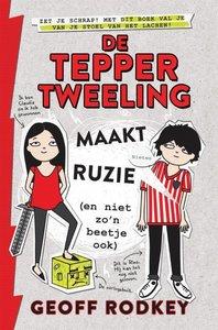 De Tepper-tweeling maakt ruzie (en niet zo'n beetje ook) / druk
