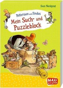 Pettersson und Findus - Mein Such- und Puzzleblock
