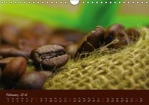 Coffee Consumption Calendar (Wall Calendar 2016 DIN A4 Landscape