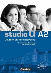 studio d - Grundstufe A2: Gesamtband - Unterrichtsvorbereitung (