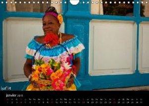 Les couleurs de CUBA (Calendrier mural 2015 DIN A4 horizontal)