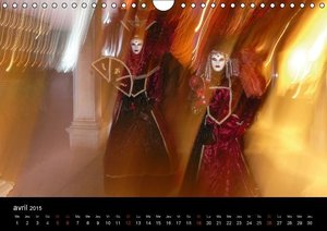 Mystérieuse SERENISSIME (Calendrier mural 2015 DIN A4 horizontal