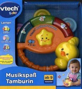VTech 80-117604 - Musikspaß Tamburin