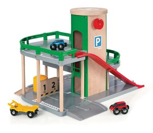 Brio 33204 - Parkhaus, Straßen und Schienen
