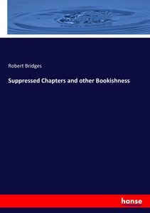 Suppressed Chapters and other Bookishness