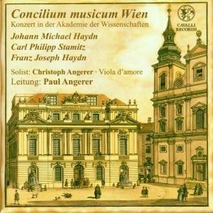 Sinfonie d-Moll/Concerto D-Dur/Sinfonie G-Dur