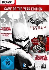 Batman: Arkham City - GOTY Edition (Game of the Year)
