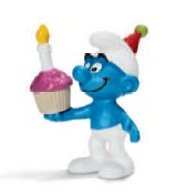 Schleich 20751 - Schlümpfe: Geburtstagsschlumpf - zum Schließen ins Bild klicken