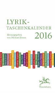 Lyrik-Taschenkalender 2016