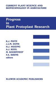 Progress in Plant Protoplast Research
