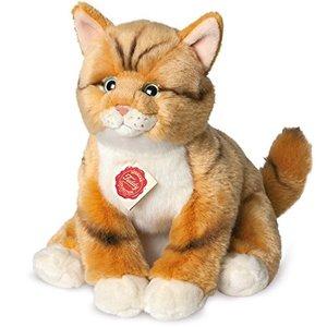 Teddy Hermann 90699 - Katze rot getigert 30 cm