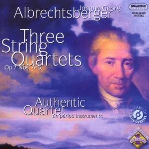 Drei Streichquartette op.7