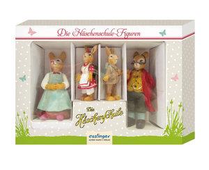 Häschenschule-Figuren in Geschenkbox